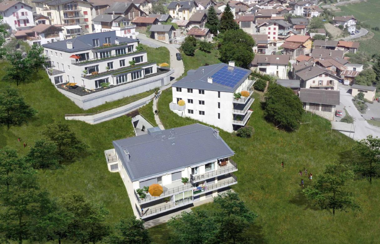 MAGNIFIQUE résidence à Savièse avec terrasse de 50 m2
