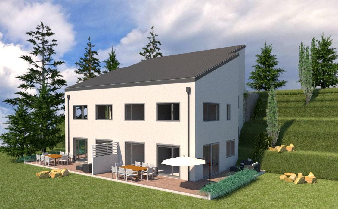 Perspective Villa A1-A2